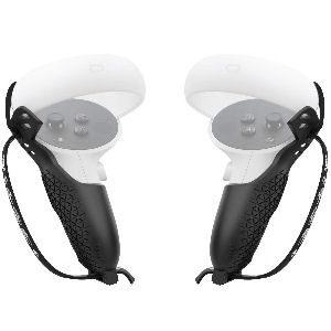 Funda protectora para Oculus Quest, para evitar daños por caídas, con correas ajustables para la muñeca