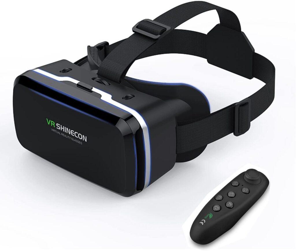 Gafas de realidad virtual con mando a distancia remoto