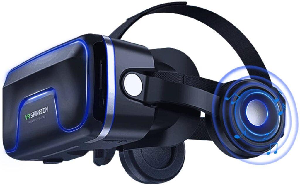 Gafas de realidad virtual con sonido