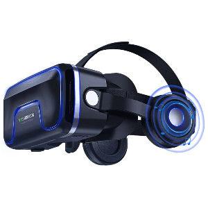 Gafas de realidad virtual con sonido y auriculares incorporados