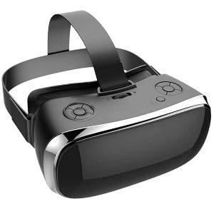 Gafas de realidad virtual para PC y PS4, con auriculares 3D y botones incorporados