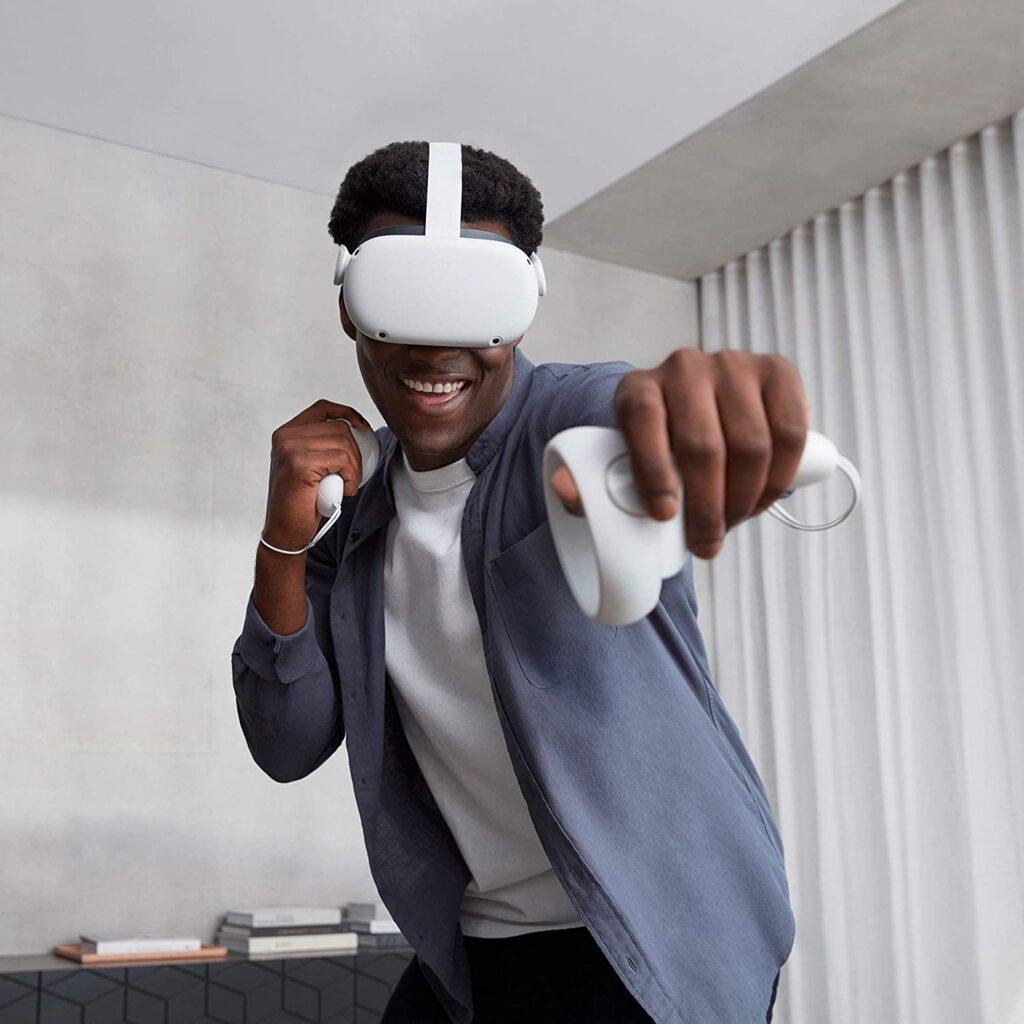 Juega a la realidad virtual con las gafas oculus quest 2